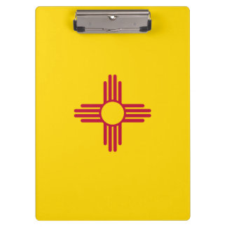 New Mexico Flag Clipboard