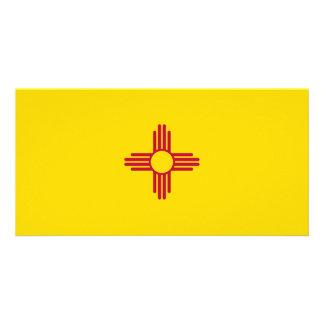New Mexico Flag Customized Photo Card
