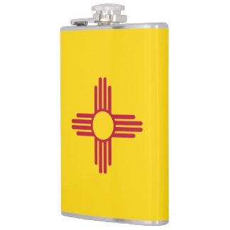 New Mexico Flag Flasks