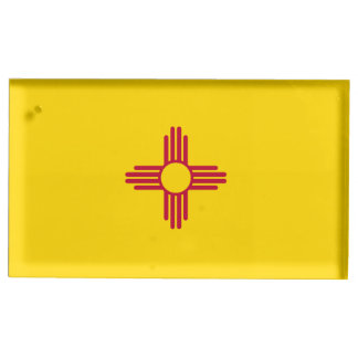 New Mexico Flag Place Card Holder
