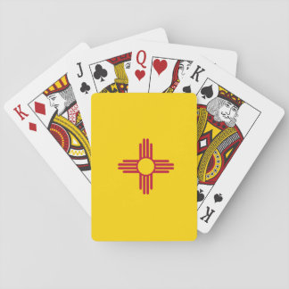 New Mexico Flag Poker Deck
