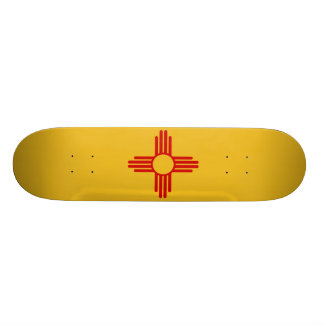 New Mexico Flag Skateboard