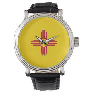 New Mexico Flag Wrist Watch