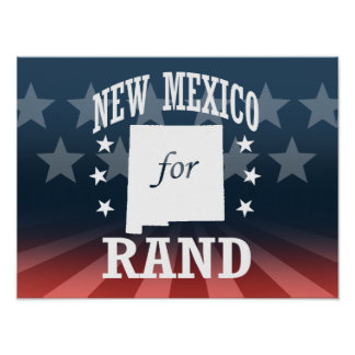 NEW MEXICO FOR RAND PAUL POSTER