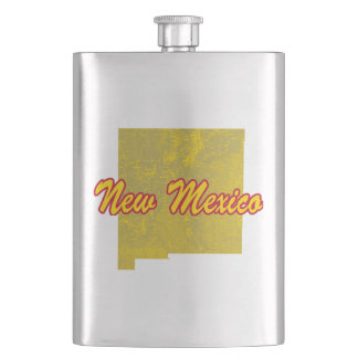 New Mexico Hip Flask