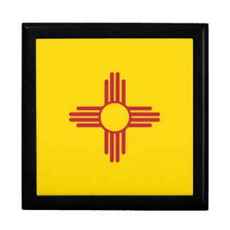 NEW MEXICO LARGE SQUARE GIFT BOX