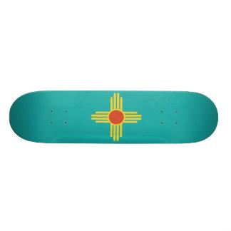 New Mexico License Plate Skateboard