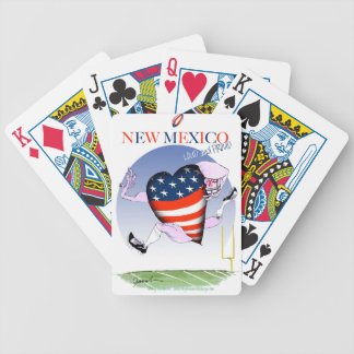 new mexico loud and proud, tony fernandes bicycle playing cards