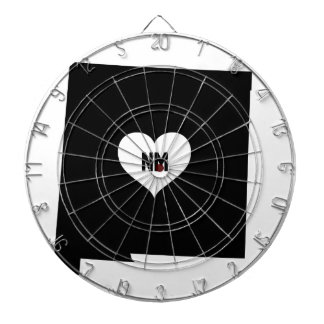 New Mexico Love Dartboard