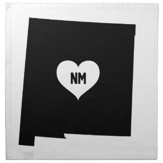 New Mexico Love Napkin