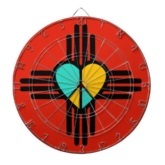 New Mexico, Love, Peace Dartboards