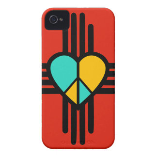 New Mexico, Love, Peace iPhone 4 Case-Mate Cases