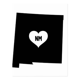 New Mexico Love Postcard