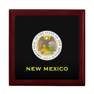 New Mexico* Mahogany Jewelry Box