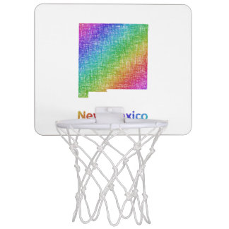 New Mexico Mini Basketball Hoop