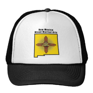 New Mexico MMA Mesh Hat