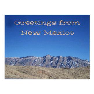 New Mexico Mountain View Postcard