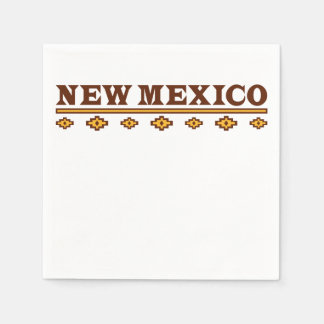 New Mexico Native Pattern Paper Napkins