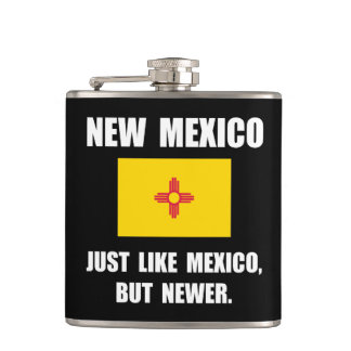 New Mexico Newer Hip Flask