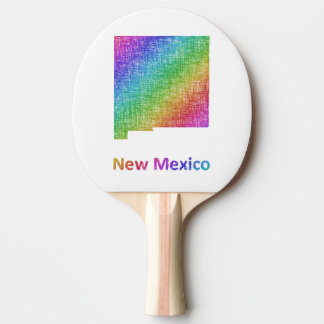 New Mexico Ping Pong Paddle