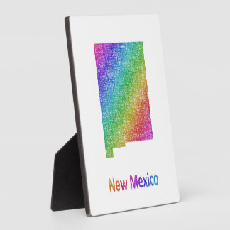 New Mexico Plaque