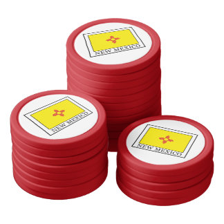 New Mexico Poker Chip Set
