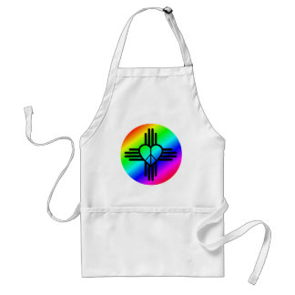 New Mexico Rainbow Love Standard Apron