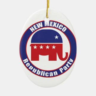 New Mexico Republican Party Ornaments