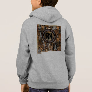 New Mexico Rig Up Camo Hoodie
