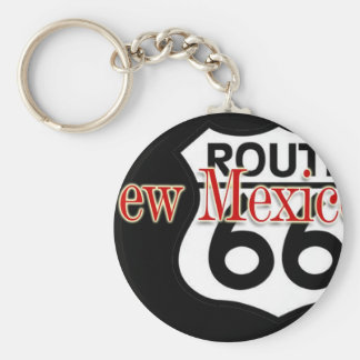New Mexico Route 66 Keychain