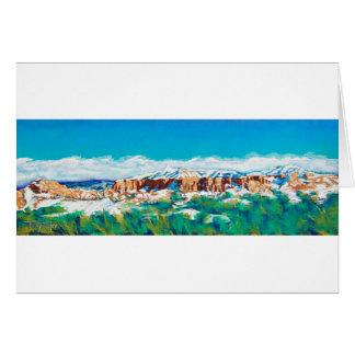 New Mexico Skyline Card