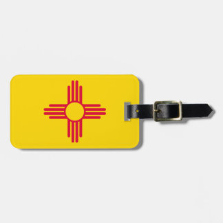 New Mexico State Flag Design Luggage Tag