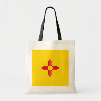 New Mexico State Flag Design Tote Bag