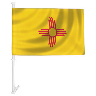 New Mexico State Flag for image Car Flag