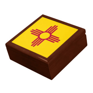 New Mexico State Flag Gift Box