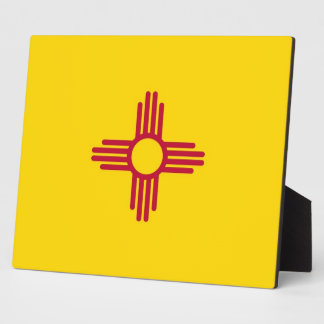 New Mexico State Flag Plaque