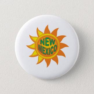 New Mexico sun 6 Cm Round Badge