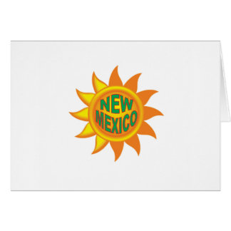 New Mexico sun Card