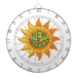 New Mexico sun Dartboard