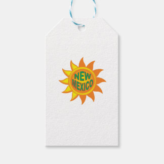 New Mexico sun Gift Tags