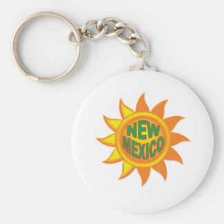 New Mexico sun Key Ring