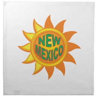New Mexico sun Napkin