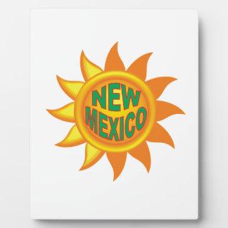 New Mexico sun Plaque