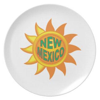 New Mexico sun Plate