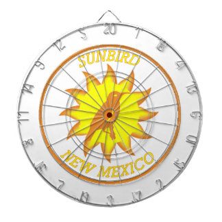 New Mexico Sunbird Shield Dartboard With Darts