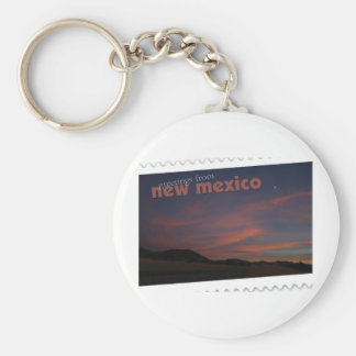 New Mexico sunset Key Ring
