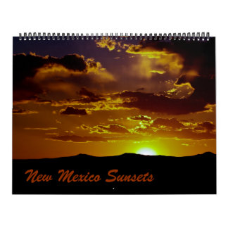 New Mexico Sunsets Wall Calendars