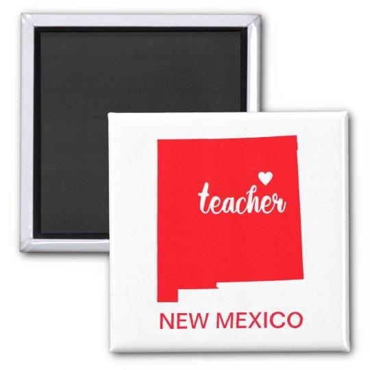 New Mexico Teacher Magnet