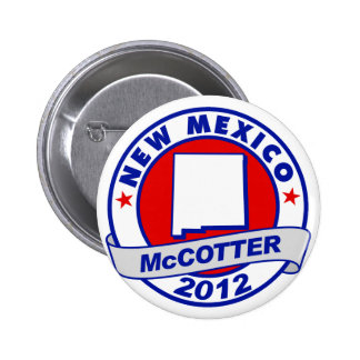 New Mexico Thad McCotter Pinback Button