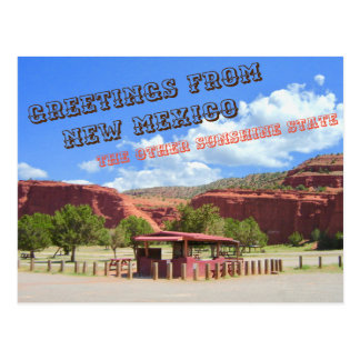 New Mexico, the Other Sunshine State Postcard